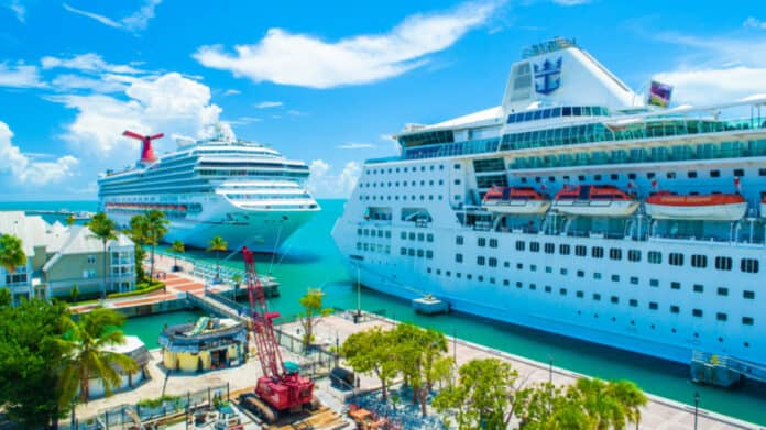 Cruise Ships in Key West