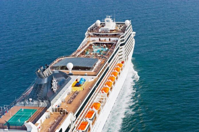 MSC Magnifica at Sea