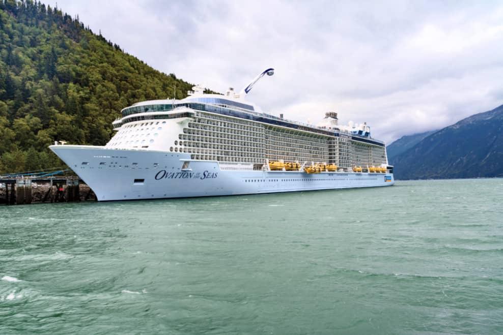 Ovation of the Seas Alaska