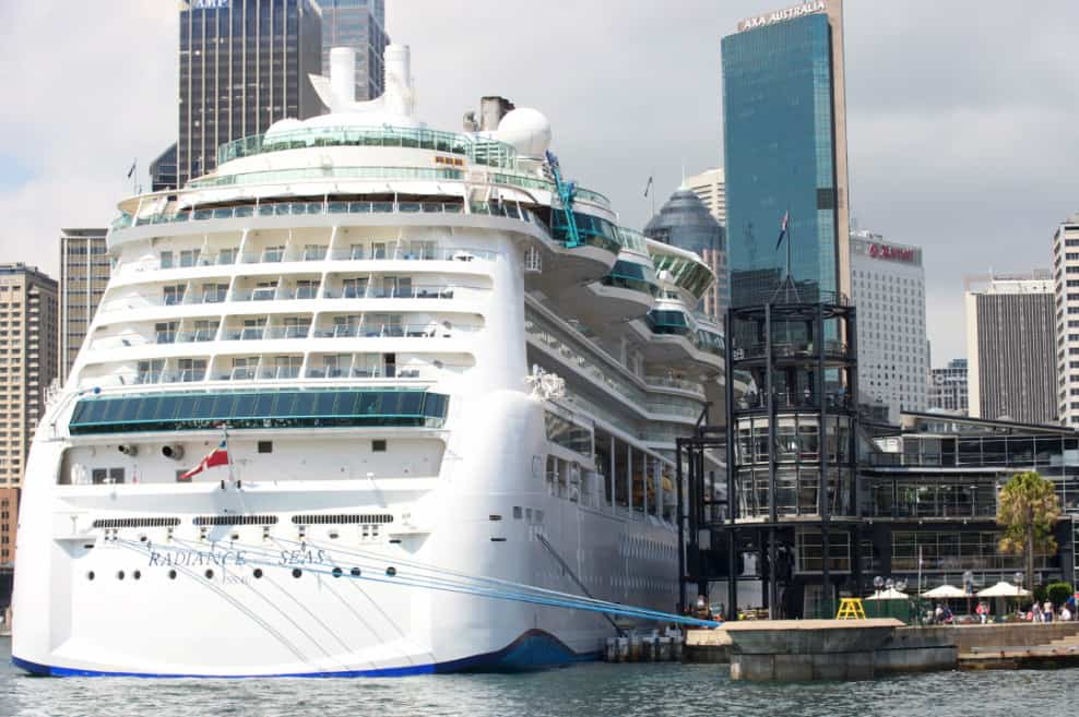 Radiance of the Seas in Australia