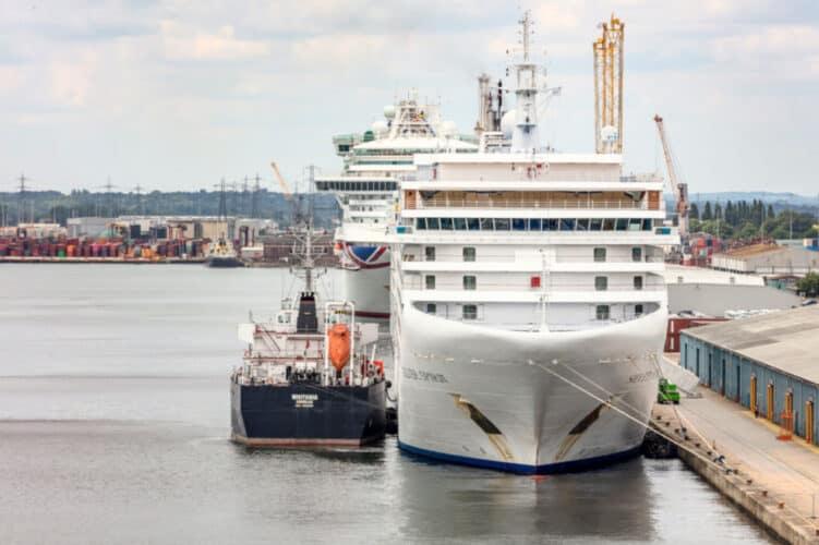 Southampton Cruise Ships