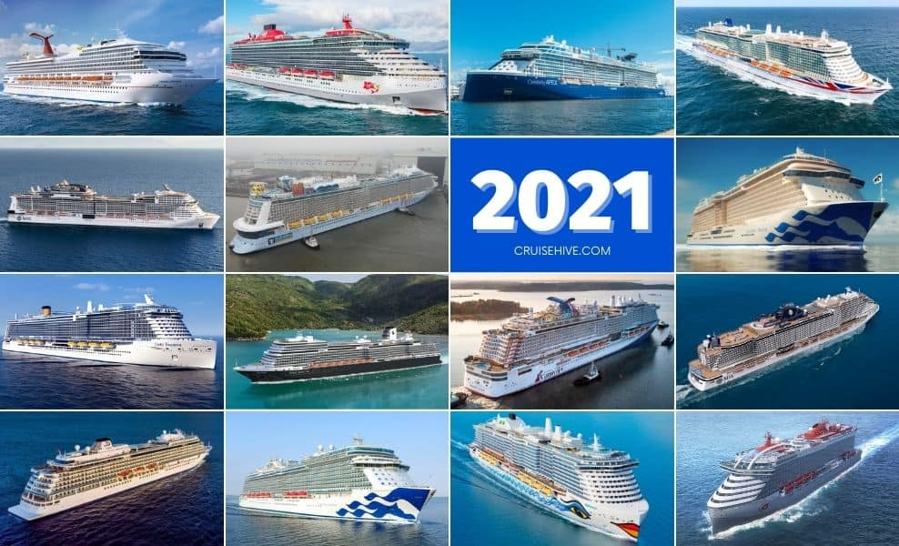 Christmas Ships Seattle 2021 15 Best New Cruise Ships To Begin Sailing In 2021
