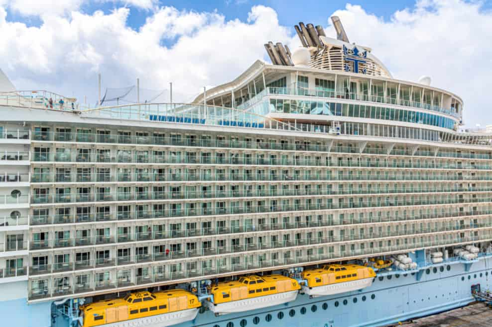 Allure of the Seas, Royal Caribbean Cruise Ship
