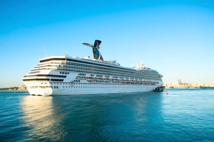 Carnival Liberty at PortMiami, Florida