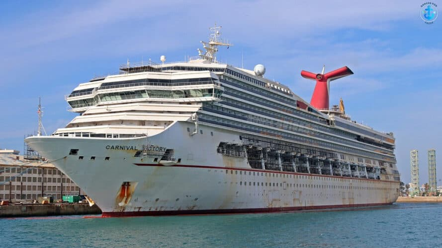 Carnival Victory in Cadiz, Spain