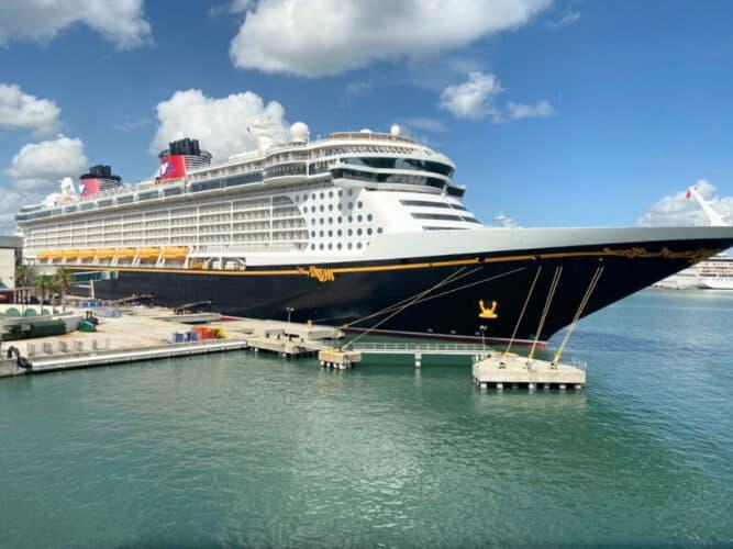 Disney Dream at Port Canaveral