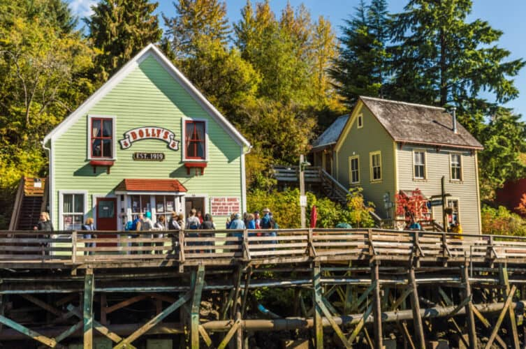 Dolly's House Museum, Ketchikan