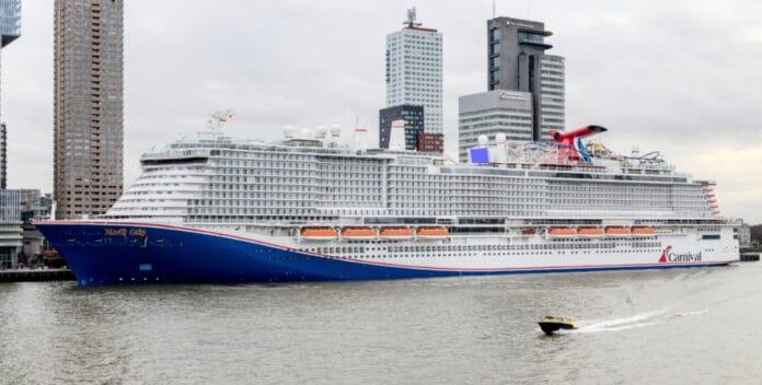 Mardi Gras Docked in Rotterdam