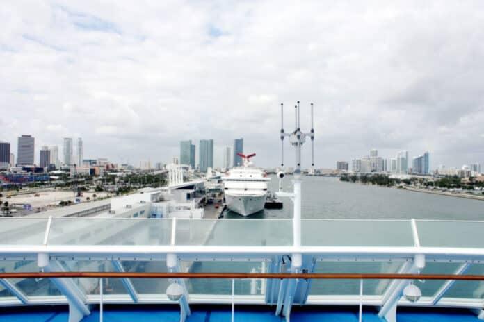 Docked PortMiami Cruise Ships