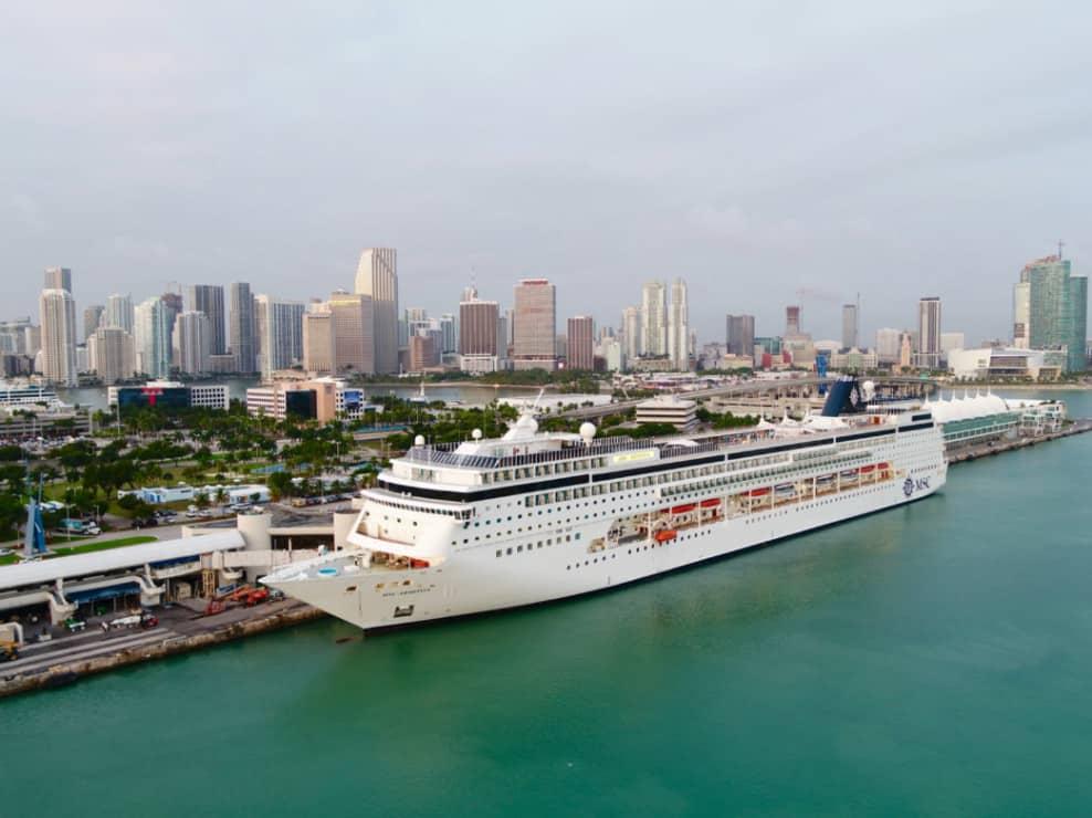 MSC Divina in Miami