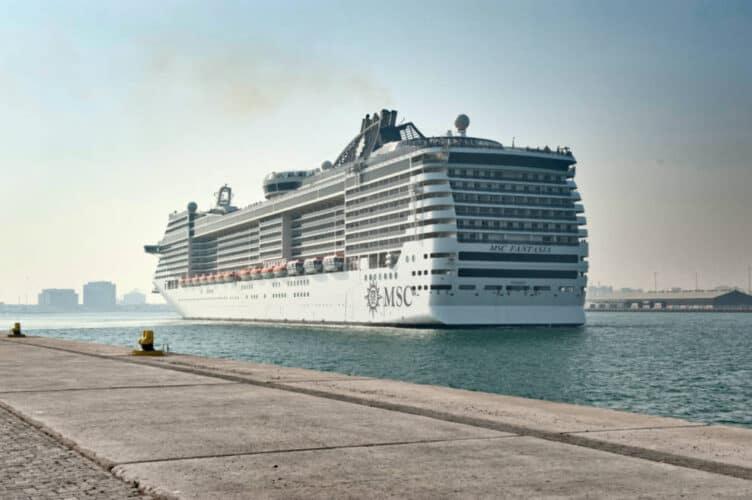 MSC Fantasia in Doha