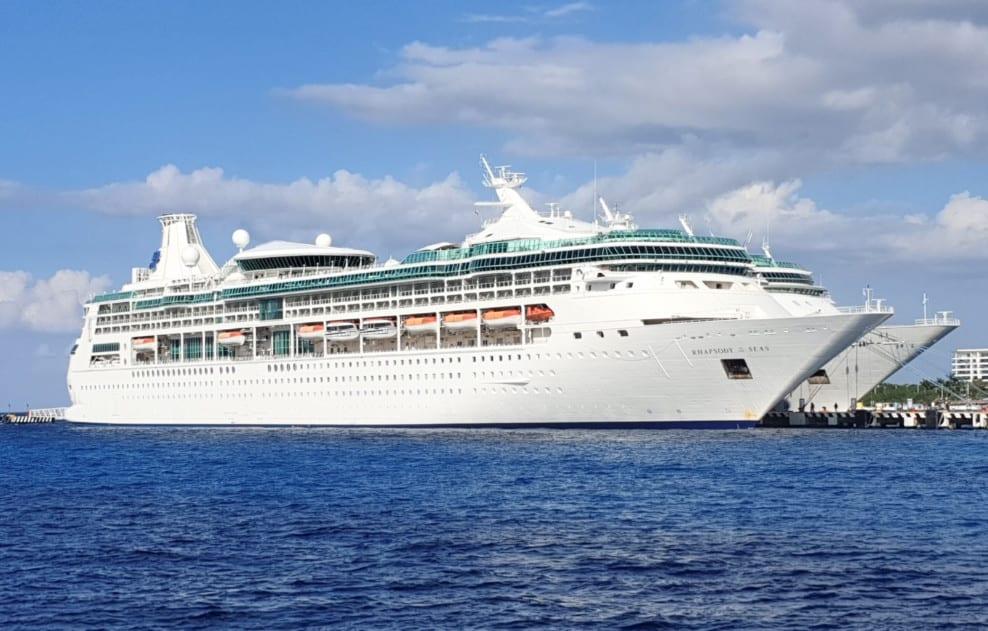 Docked Royal Caribbean Cruise Ships