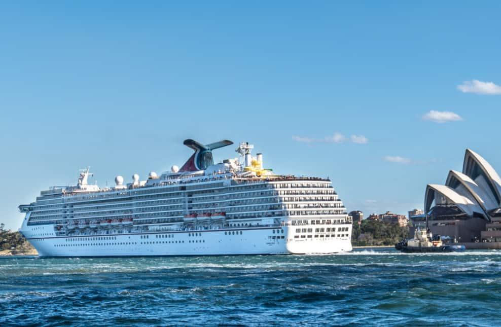 Carnival Cruise Ship in Sydney, Australia