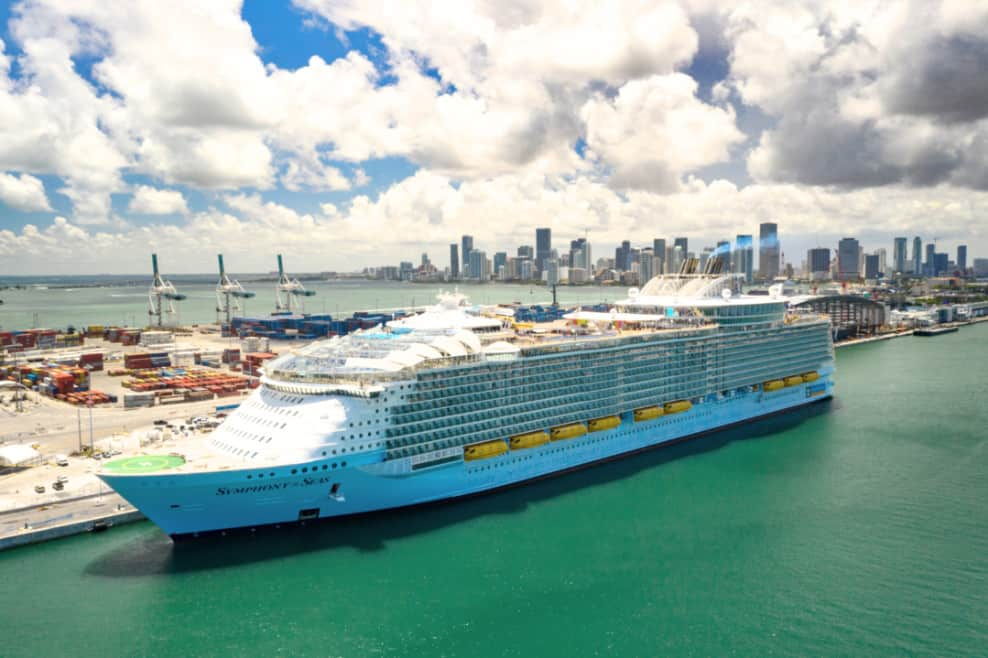 Symphony of the Seas at PortMiami, Florida