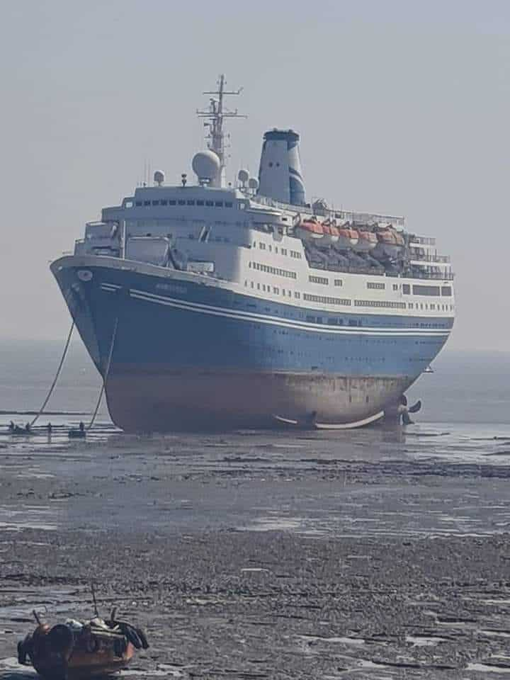 Marco Polo Beached in Alang, India