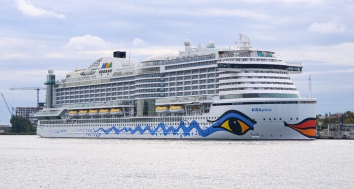 AIDAprima Cruise Ship