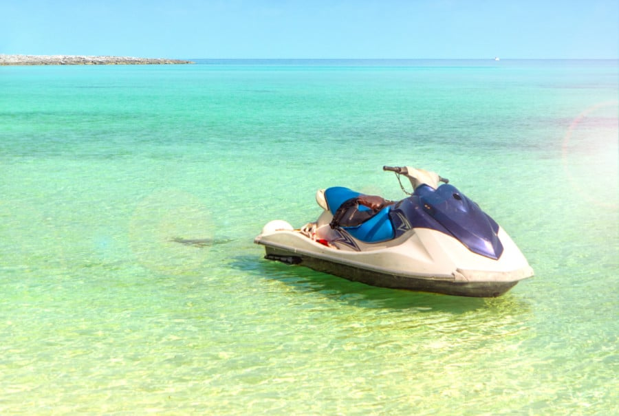 Castaway Cay Jet Ski