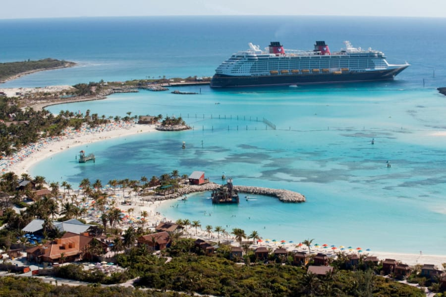 Castaway Cay Arial View