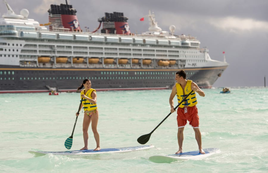 Water Sports at Castaway Cay