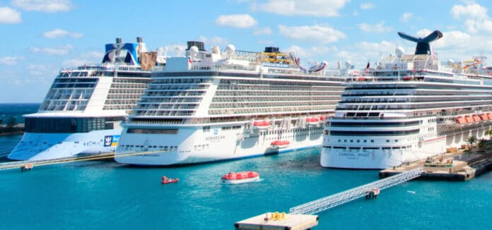 Cruise Ships from Major Cruise Lines
