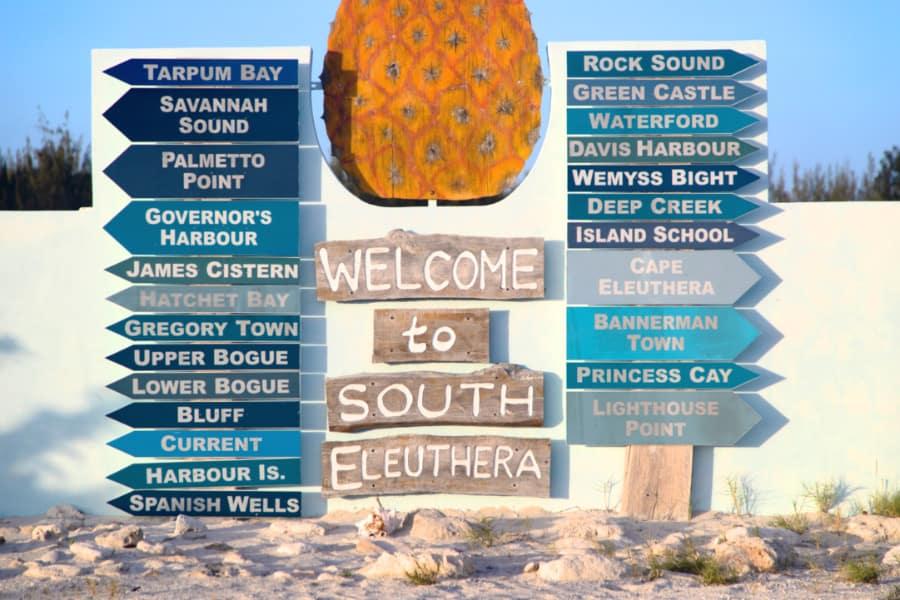 South Eleuthera Sign