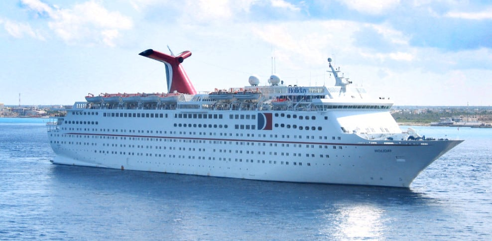 Carnival Holiday Cruise Ship