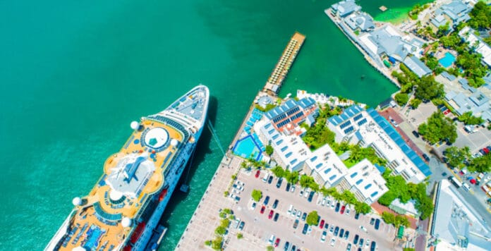 Cruise Ship in Key West, Florida