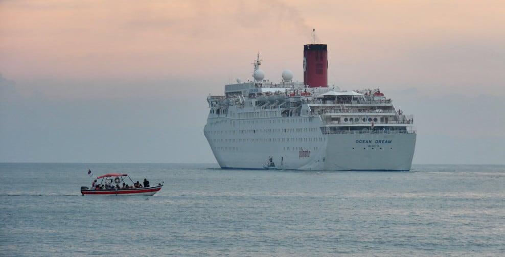 Ocean Dream Cruise Ship, Peace Boat