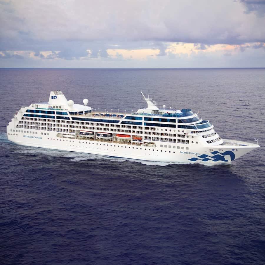 Pacific Princess Cruise Ship