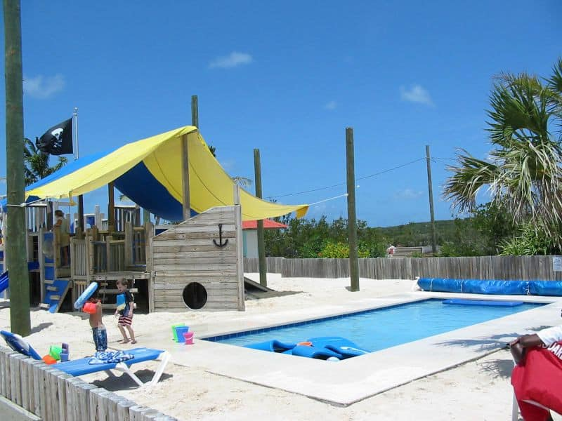 Pelican's Perch Kids Play Area at Princess Cays