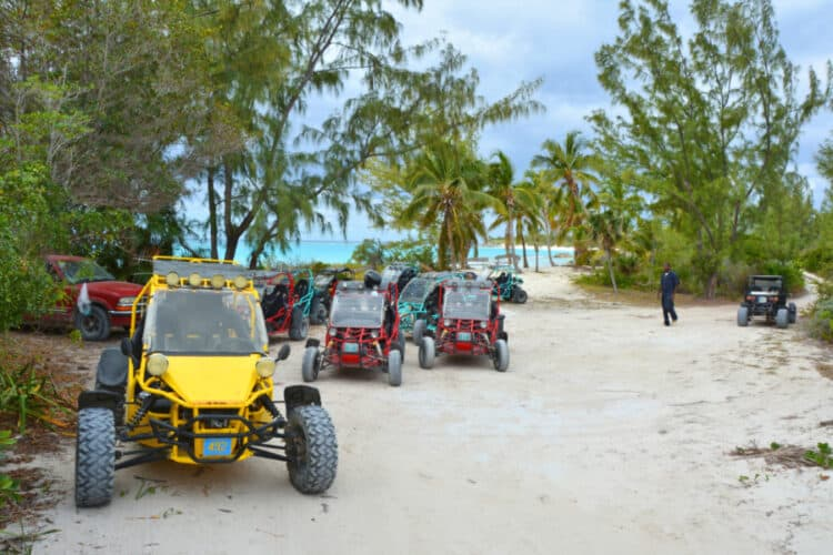 Off-road Buggy tour on Eleuthera island