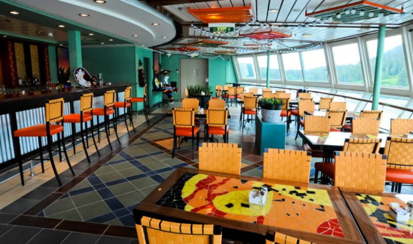 Rita's Cantina on Radiance of the Seas