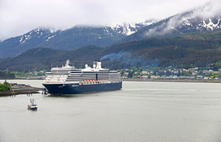 Cruise Ship at Sitka, Alaska