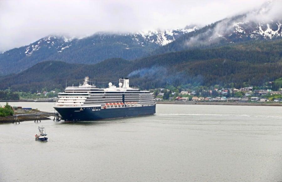 Cruise Ship at Sitka, Alaska