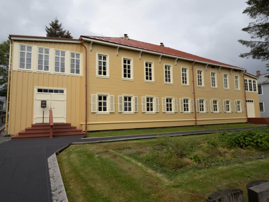 Russian bishops house in Sitka, AK