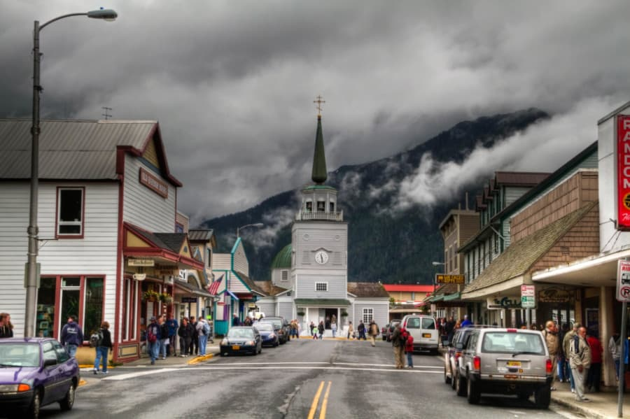 St. Michael's Cathedral, Downtown Sitka