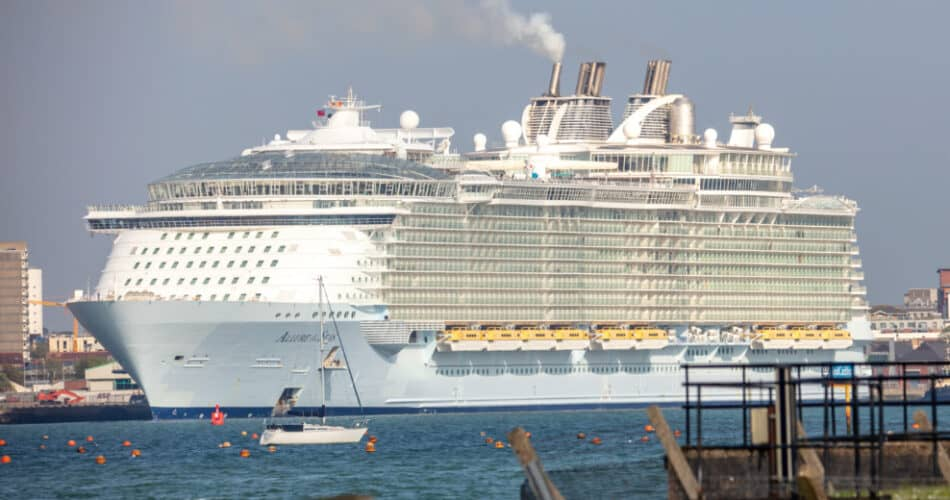 Allure of the Seas in Southampton