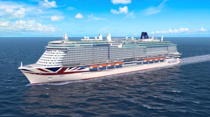 P&O Arvia Cruise Ship