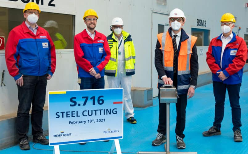 Arvia Steel Cutting Ceremony