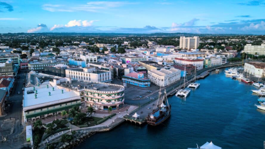 Downtown Bridgetown