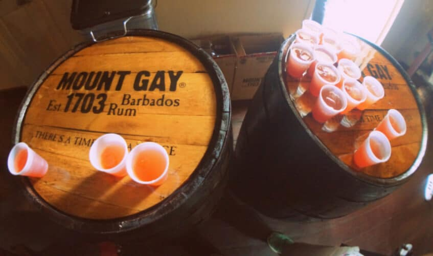 Mount Gay Barbados Rum Tour
