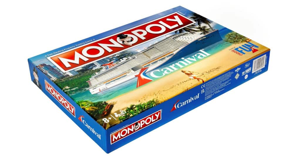 Carnival Cruise Monopoly Game