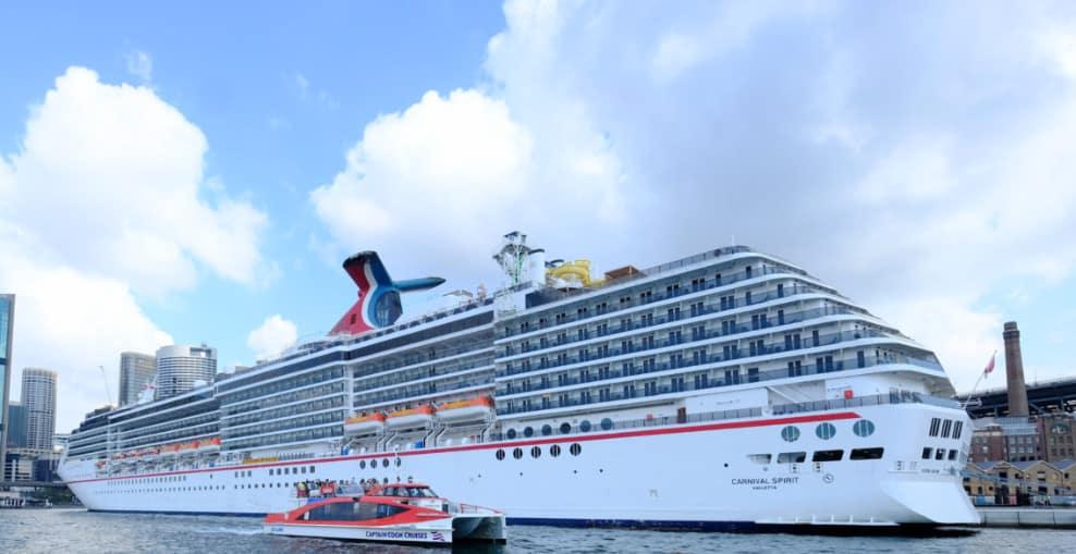 Carnival Spirit in Port