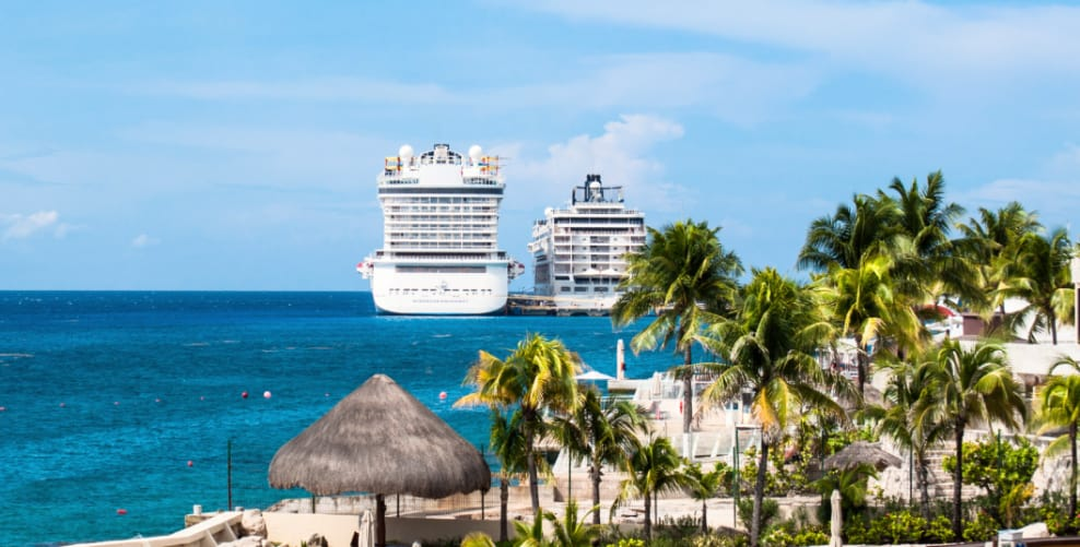 Cruise Ships in Cozumel, Mexico