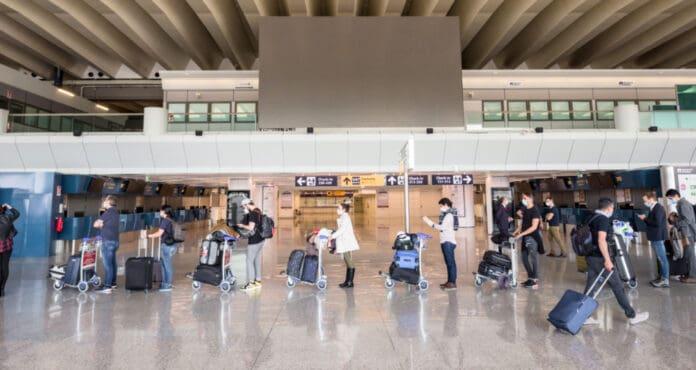 Passengers at Going on Flight