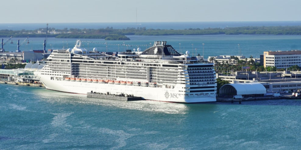 MSC Divina at PortMiami, Florida