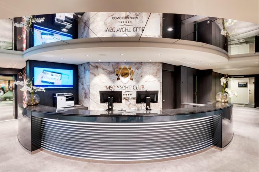MSC Cruises Yacht Club Concierge