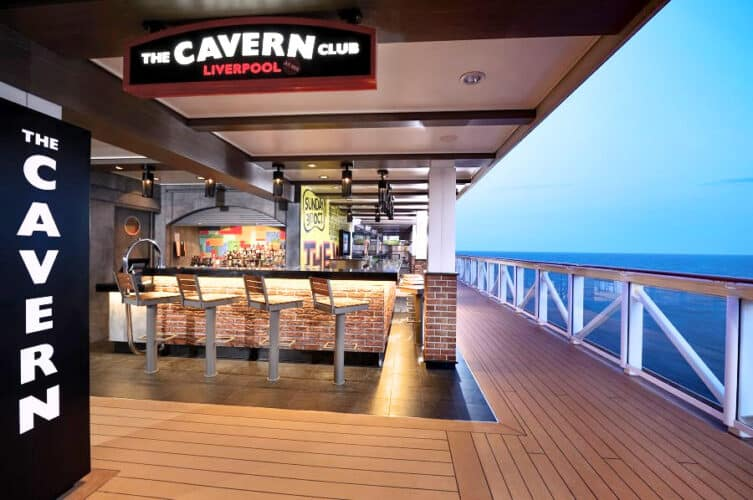 The Cavern Club on The Waterfront on Norwegian Bliss