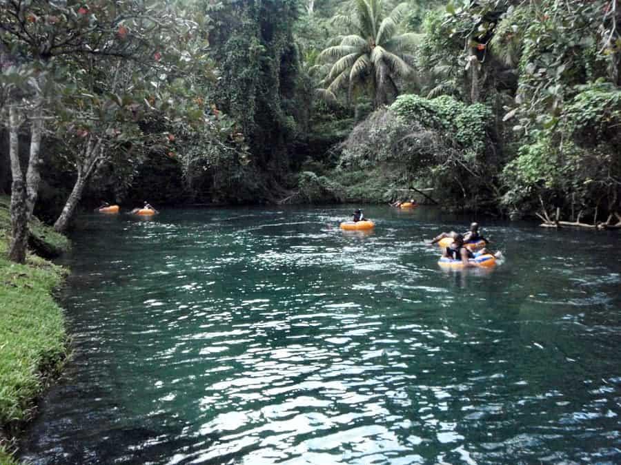 White River Tubing, Jamaica