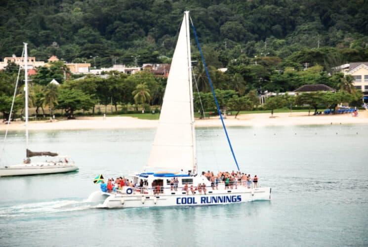 Cool Runnings catamaran in Ocho Rios, Jamaica